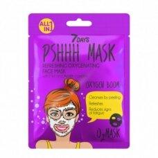 7 DAYS Putojanti gaivinamoji veido kaukė su mėta lakštinė, 25 g