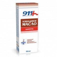 911 šampūnas visų tipų plaukams LOŠADINOJE MASLO, 150 ml