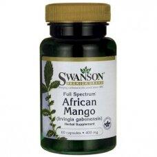 Afrikos mango ekstraktas Swanson N60