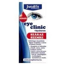 Akių lašai drėkinamieji su hialuronu Jutavit 10ml