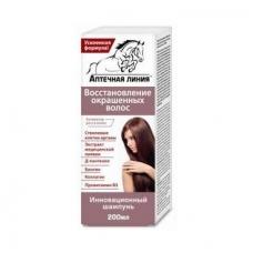 Aptečnaja Linija šampūnas dažytiems plaukams 200ml