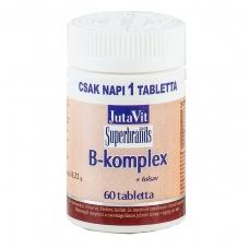 B-complex folio rūgštis JutaVit N60 Maisto papildas