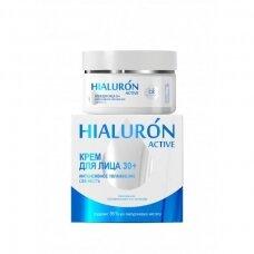 Belkosmex Hialuron Active 30+ kremas veidui šviežinantis, 48 g