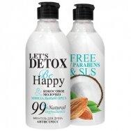 """BODY BOOM dušo želė """"be happy"""", antistresinė, 380 ml"""