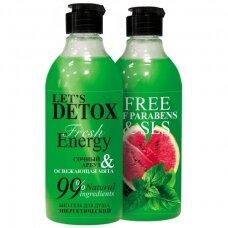"BODY BOOM dušo želė ""fresh energy"", energizuojanti, 380 ml"