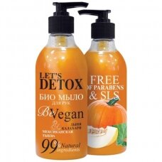"BODY BOOM skystas muilas ""be vegan"", maitinamasis, 380 ml"