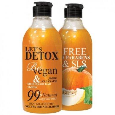 "BODY BOOM dušo želė ""be vegan"", maitinamoji, 380 ml"