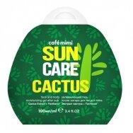 Cafe Mimi Sun drėkinamasis gelis po saulės veidui ir kūnui Kaktusas, 100 ml