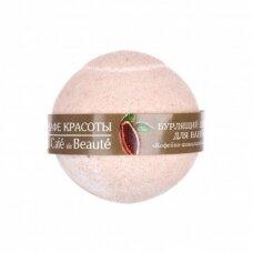 CAFE BEAUTE šnypščiantis vonios burbulas ''Kavos-šokoladinis šerbetas'', 120g