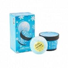 CAFÉ MIMI rinkinys Uogų Kalėdos (kremas kūnui 110 ml; putojantis kamuolis 120 g)