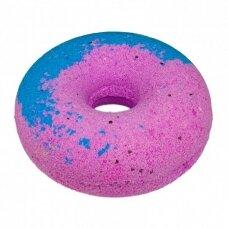 """Cafe Mimi šnypščiantis vonios burbulas """"Mėlynių avietinė spurga"""", 140 g"""