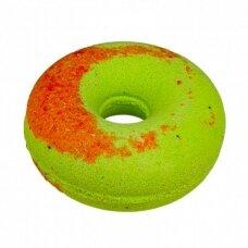"""Cafe Mimi šnypščiantis vonios burbulas """"Persikinė spurga su kivi"""", 140 g"""