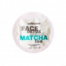 Cafe Mimi šveičiamoji kaukė veidui Matcha arbata ir alavijas, 10 ml