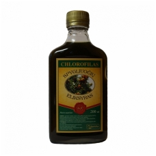 CHLOROFILAS spygliuočių eliksyras, 200 ml