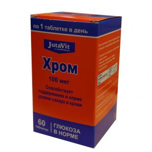 Chromas 100mcg JutaVit N60