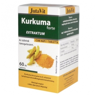 Ciberžolės ekstraktas JutaVit N60