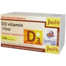 D vitaminas 100 kaps