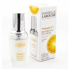Danielle Laroche Atstatomasis paakių kremas su vitaminu C, 30 ml