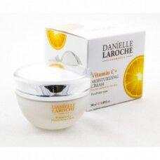 Danielle Laroche Drėkinamasis veido kremas su vitaminu C, 50 ml
