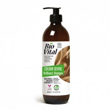 DeBa Bio Vital šampūnas šviesių atspalvių plaukams, 400 ml