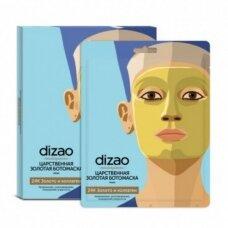 Dizao Masterpieces kaukė veidui su auksu ir kolagenu, lakštinė, 30 g