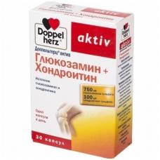 Doppelhertz aktyv Gliukozaminas + Chondroitinas 30 kaps