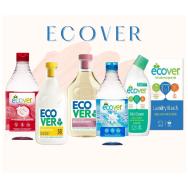 ECOVER - ekologiškos valymo priemonės.