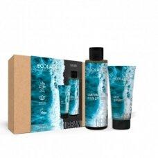 Ecolatier rinkinys vyrams URBAN MEN CARE (dušo želė ir šampūnas 2/1 200 ml; kremas skutimuisi 100 ml)