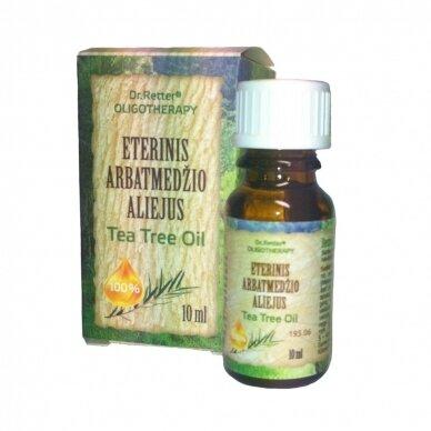 Eterinis arbatmedžio aliejus Tea Tree Oil 10ml
