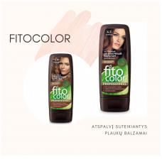 FITOCOLOR atspalvį suteikiantys plaukų balzamai