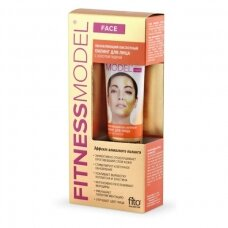 Fitness Model atstatantis rūgštinis šveitiklis veidui su aukso pudra, 45ml