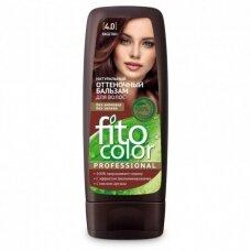 FITOCOLOR atspalvį suteikiantis plaukų balzamas. 4.0 Kaštonas, 140 ml