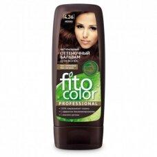 FITOCOLOR atspalvį suteikiantis plaukų balzamas. 4.36 Moka, 140 ml