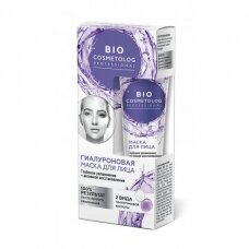 Fitokosmetik Bio Cosmetolog Professional kreminė kaukė veidui su hialuronu, 45 ml