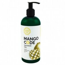 GOOD MOOD mango drėkinamoji dušo želė normaliai odai, 400 ml