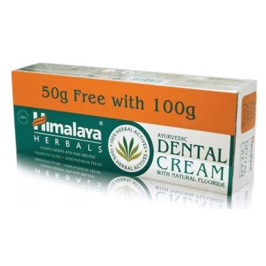 HIMALAYA dantų pasta, 100 g, + HIMALAYA dantų pasta, 50 g