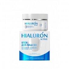 Hialuron Active 50+ kremas veidui, 48 g