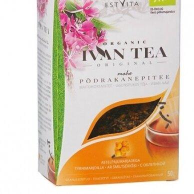 Ivan Tea natūrali fermentuota gauromečio arbata su šaltalankiu 50g