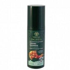 KARELIA serumas plaukų atstatymui Organic Oblepikha, 150 ml