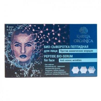 KARELIA Serumas su peptidais veidui, 2,5 ml * 8 vnt