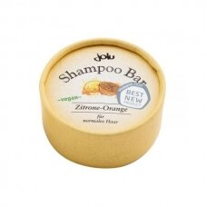 Kietas šampūnas normaliems plaukams Jolu Citrina-apelsinas, 50g