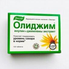Maisto papildas cukraus kiekio kontrolei OLIDZIM (Inulin) Evalar N100