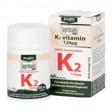 Maisto papildas K2 vitaminas 120mcg JutaVit N60