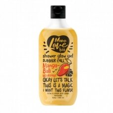 """MONOLOVE BIO maitinamoji kreminė dušo želė """"Mango-Bali"""", 300 ml"""