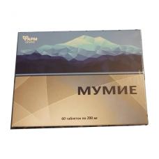 Mumio (Shilajit) 60 tablečių x 200 mg