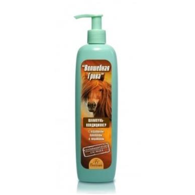 """Šampūnas-kondicionerius """"Stebuklingi karčiai"""" arklių šampūnas"""