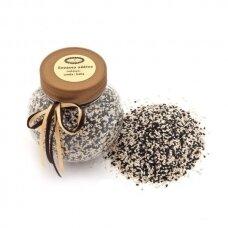 Sezamo sėklų mišinys, juoda-balta 100g