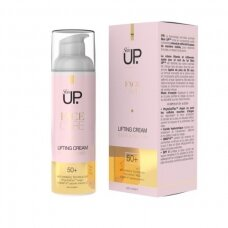 Skin UP. Stangrinamasis kremas veidui 50+, 50 ml