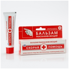 Skoraja pomošč balzamas žaizdoms 35 ml