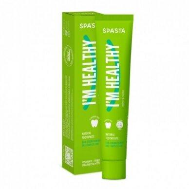 SPASTA Natūrali dantų pasta stiprinanti dantenas I AM HEALTHY, 90 ml